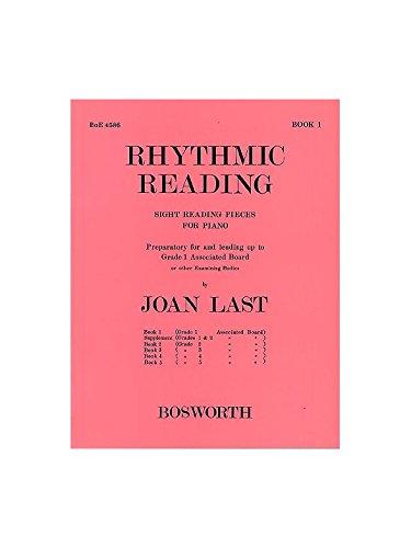 Joan belasting: ritmisch lezen, 1 graad 1. Noten voor piano