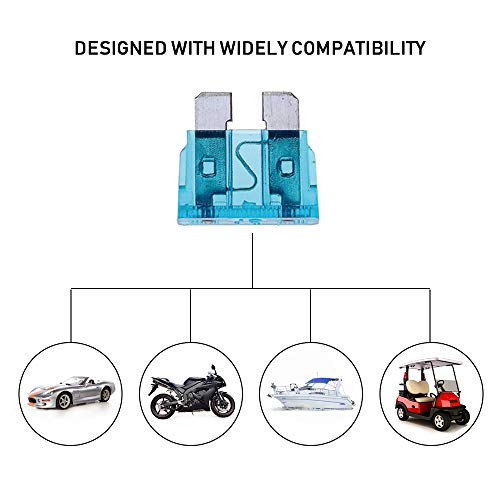 272pcs - Car Blade Fuses Assortment Kit, Automotive Fuses - Standard