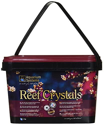 Aquarium Systems Reef Crystals Sel pour Aquariophilie 4 kg/120 L