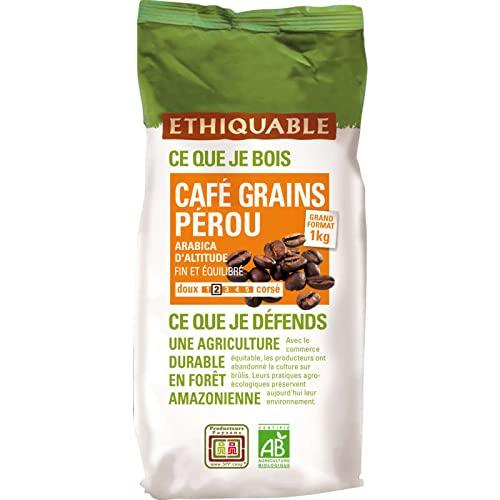 Ethiquable Café engrains Pérou, Le Paquet de 1kg