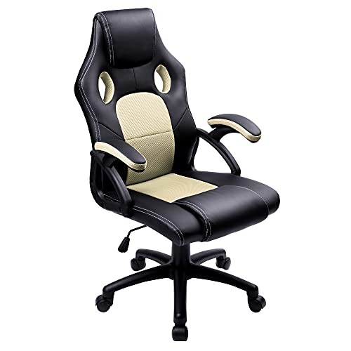 Ergonomic Design Racing Gaming Chair with High Back Office Chair Computer Desk Chair Swivel Chair for Adults Teenager