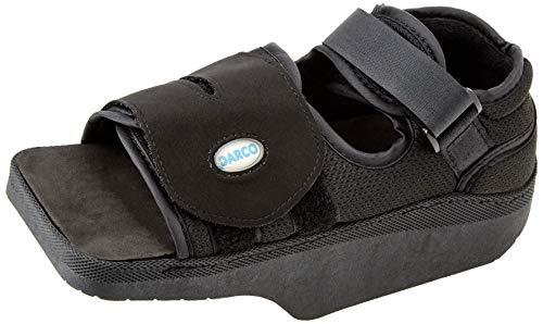 Darco Orthowedge Schuh, medizinischer und chirurgischer Schuh, reduziert den Druck auf dem Vorderfuß, verstellbare Träger,Medium(40-41,5 EU), 1 Stück