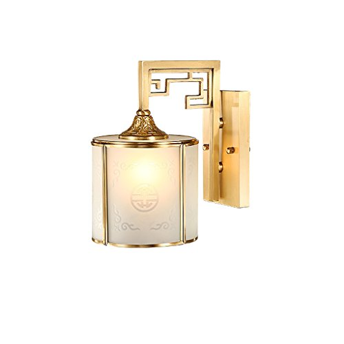 XW LRW wandlamp in Chinese stijl in Chinese stijl wandlamp van koper woonkamer wandlamp vloerlamp