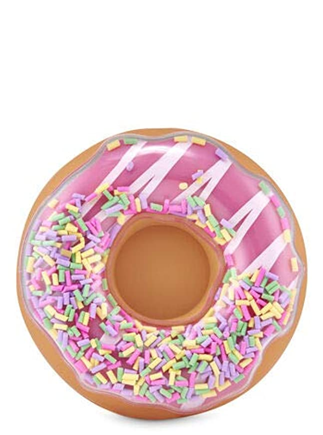 ある地区アジテーション【Bath&Body Works/バス&ボディワークス】 クリップ式芳香剤 カーフレグランスホルダー セントポータブル ホルダー (本体ケースのみ) ドーナッツ with スプリンクル Scentportable Holder Donut with Sprinkles Visor Clip [並行輸入品]