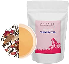 Jarved Turkish Tea: Black Tea with Flower Petals and Spices. (100g, Makes 50 Cups) Special Introductory Price