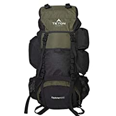NOT YOUR BASIC BACKPACK: Continues to be the top selling internal frame backpack on Amazon at a great price for all the included features VERSATILE QUICK TRIP PACK: Perfect backpack for men, woman and youth; best for 3-5-day backpacking trips; 3400 c...