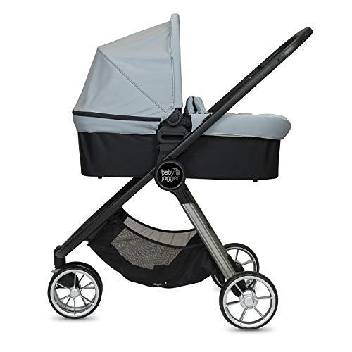 Baby Jogger Duo City Mini2 3 Roues Slate – Poussette + Nacelle – 18600 g