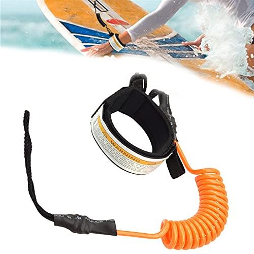 cyg Correa Surf, Correa De Surf Cuerda Cuerda De Seguridad Correa Tabla Surf para Tablas De Surf De Stand-up Paddle Board Correa De Surf Cuerda para Pierna (Color : B)