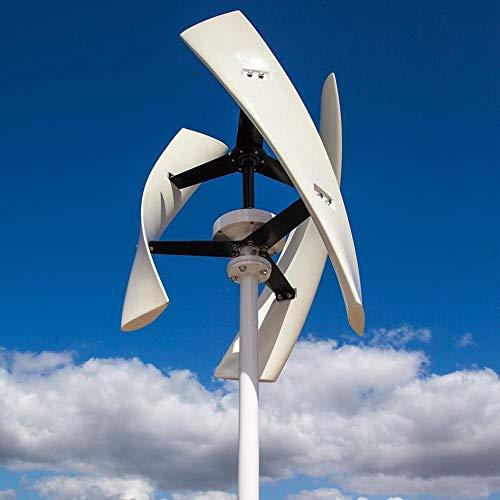 TQ 400W Windturbine Generator Grün Noiseless Vertikal Maglev Windmühle 3 Klingen mit Gratis-Controller,B