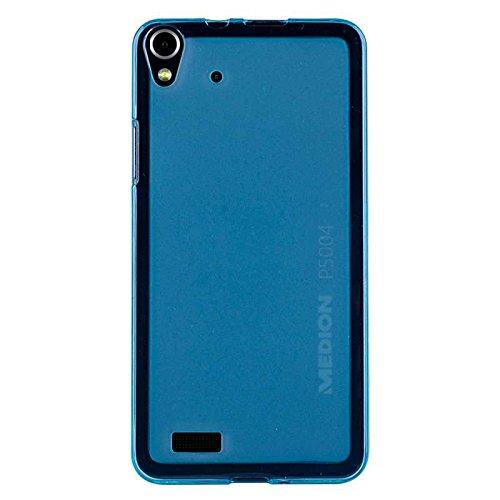caseroxx TPU-Hülle für Medion Life P5004, Tasche (TPU-Hülle in blau)