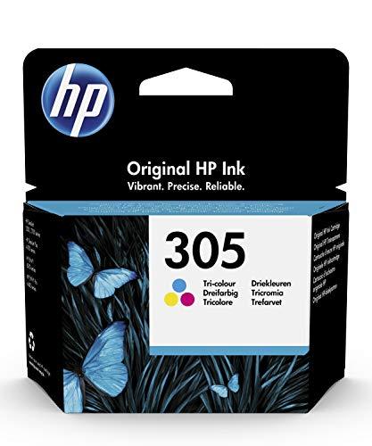 HP 305 Farbe Original Druckerpatrone für HP DeskJet, HP DeskJet Plus, HP ENVY, HP ENVY Pro