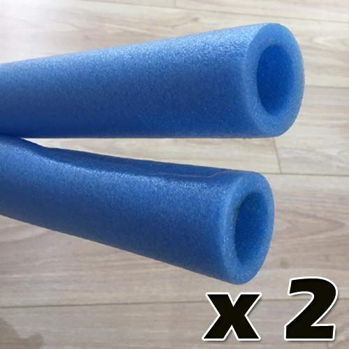 unbeatableoffers Sportspower Trampoline Foam Padding Sleeve Enclosure Pole For 8ft,10ft,12ft 14ft in Blue