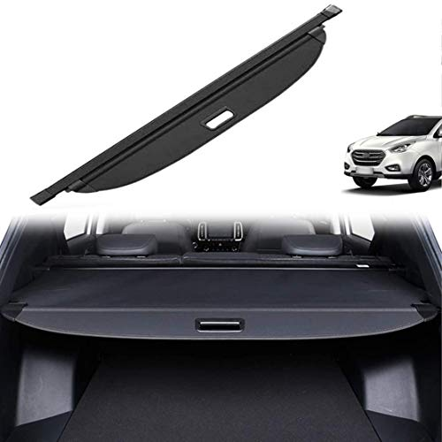 MNBX Auto Cargo Cover für Hyundai IX35 2010-2017, Fit Laderaumabdeckung Kofferraum Schutz Abdeckung Boot Load Shielding Security Panel Rollo