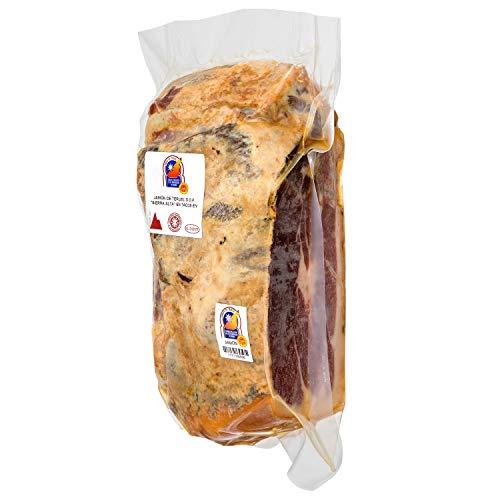 Jamones Bronchales - Taco de Jamón D.O. Teruel de Curación Natural en el Secadero más Alto de España, en la Sierra de Albarracín - 1 a 1,5kg aprox. - Curación mínima 24 meses