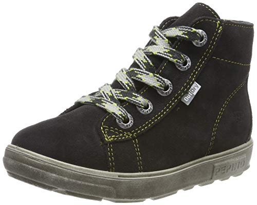 RICOSTA Jungen ZAINI Hohe Sneaker, Grau (Asphalt 494), 23 EU