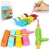Pencil Grips, Firesara Original Ergonomique Style Posture Correction Griffe pour Apple Crayon pour Enfants Preschoolers Adultes Étudiants Maternelle Enfants Besoins Spéciaux (9PCS)