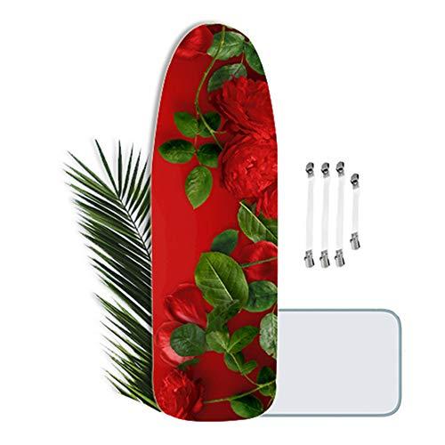 Funda de Tabla de Planchar, XL, 125x45cm, Ajustable Cubierta de la Tabla de Planchar, Especial para un Centro de Planchado
