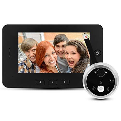 Sbeautli Peephole de la Puerta de la cámara Digital de Alta definición de 4.3