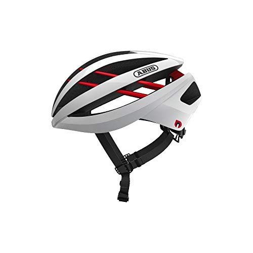 ABUS Unisex-Erwachsene AVENTOR Quin Road Helm, polar white, M