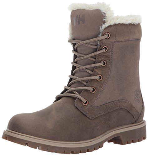 Helly-Hansen Women's Marion Backpacking Boot, 766 Weiss/Natura/Taupe Grey/Sperry Gum, 8