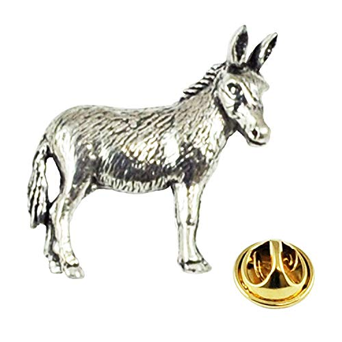 Donkey Pewter Lapel Pin Badge