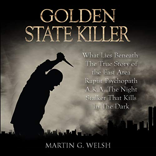 Golden State Killer Book cover art