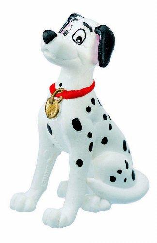 Bullyland 12513-Figura di Gioco, Walt Disney 101 Dalmatians, Pongo, Alto Circa 6,5 cm, Figura Dipinta a Mano, Senza PVC, per Giocare con la Fantasia dei Bambini, Colore Variegato, 12513