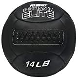Champion Sports PRX14 Rhino Promax Elite Slam Balls, 14 lb, Soft Shell with Non-Slip Grip, Medicine Wall Exercise Ball for Weightlifting, Plyometrics, Cross Training, & Home Gym Fitness
