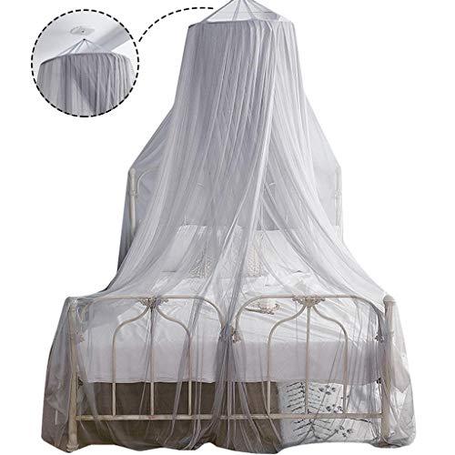 LIN HE SHOP Nordique Romantique Moustiquaire Simple Double Taille Lit Net Net Maison De Vacances D'été Canopée Moustiques Fly Midges Insecte Repellent Protection, Multi-Couleur en Option