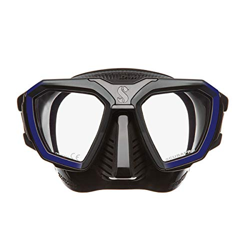 Scubapro D-Mask - Blue Black - Wide