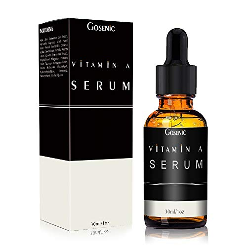 Gosenic Retinol Anti-Wrinkle Facial Serum for Men - The 2020 New Anti-Aging Formula for Younger Looking Skin - Vitamin Enriched to Smooth Fine Lines, Improve Tone & Promote Firmness