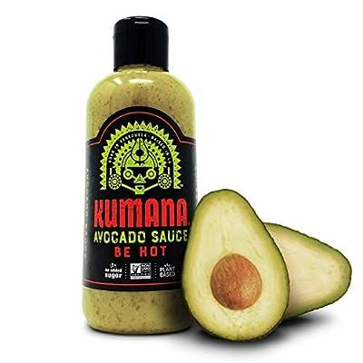 Kumana Avocado Hot Sauce. Made with Ripe Avocados & Chili Peppers.