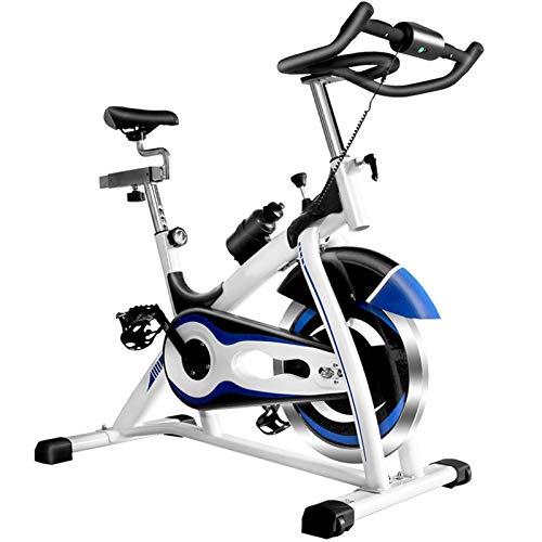 Las Bicicletas de Ejercicio Vertical, los Hogares Silenciosa de Bicicletas de Gimnasio Comercial Profesional Equipo for Deportes (Color : White)