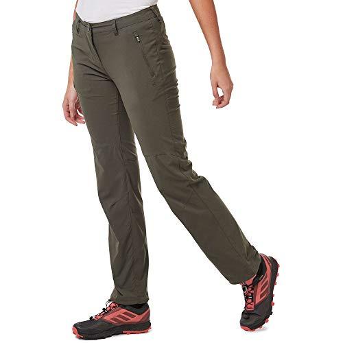 Craghoppers NL Pro TRS Pantalons, Mid Khaki, 14 Femme