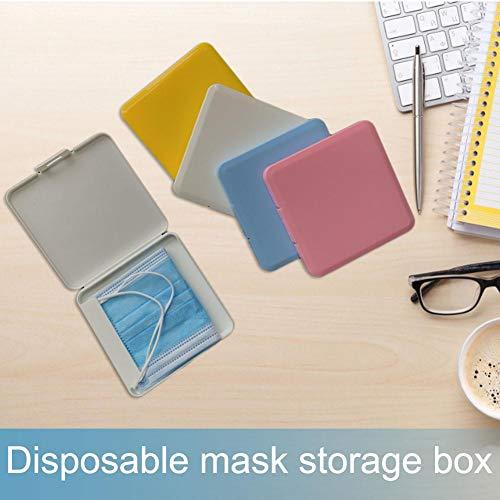 10pcs Boîte De MasqueBoîte De Rangement pour Masque Jetable Boîte Scellée pour Masque Anti-poussière