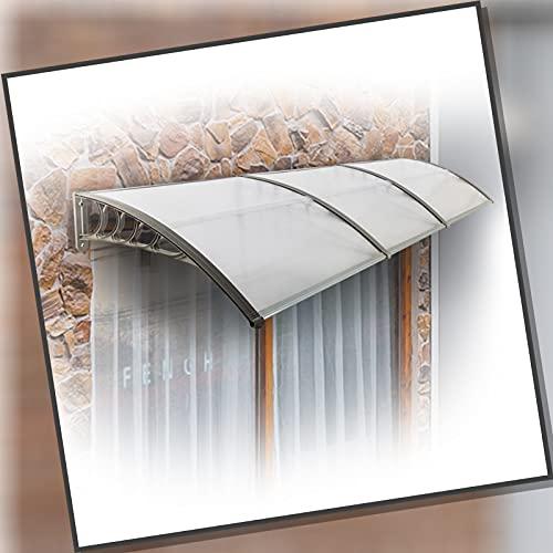 XUEXUE Tejadillo De Protección, Ventanas Toldo Toldo Exterior Refugio De Lluvia Resiste La Corrosión con Aleación De Aluminio Soporte para Ventana De Porche Puerta Blanca (Size : 100x250cm)