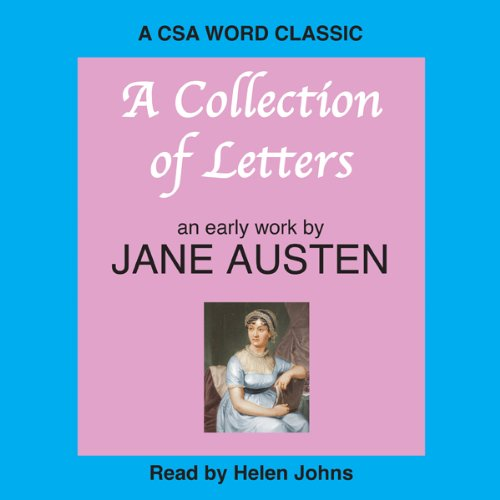 A Collection of Letters audiobook cover art