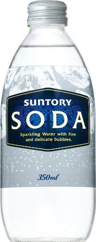 サントリー 炭酸水 ソーダ 瓶 350ml×本