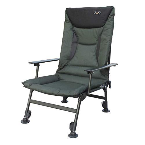 Home Outdoor/Klappliege Büro Mittagspause Siesta Stuhlverstärkung Tragbarer Freizeitstuhl Rücken Stuhl Strandkorb kann angehoben und abgesenkt Werden (Farbe: Stuhl)