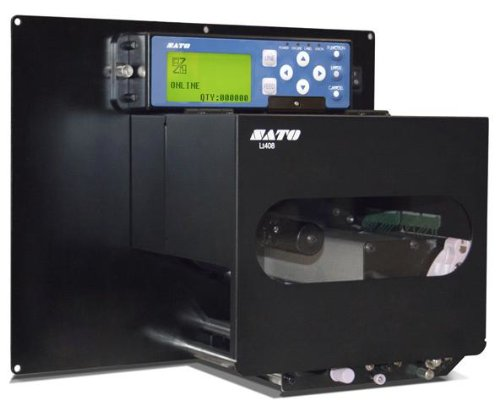 SATO LT408 Direkt thermotransfer/warmteoverdracht 203 x 203DPI labelprinter labelprinter (directe warmte/warmteoverdracht, 203 x 203 dpi, 150 mm/s, 10,4 cm, zwart, LCD)