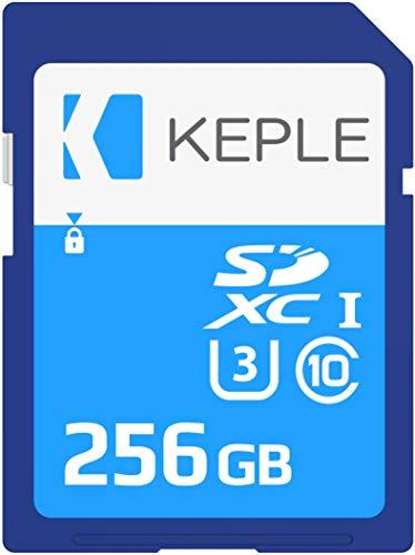 256GB Tarjeta SD Clase 10 de Memoria Compatible con Canon EOS 6D, 77D, 100D, 200D, 1100D, 1500D, 1200D, 60D, 1300D, 800D, 750D, 760D, 80D, 4000D, 3000D, 5Ds, 5DsR Cámara