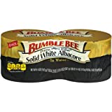 BUMBLE BEE GOURMET CANNED TUNA: We hand-select solid white albacore and pack it in pure water QUALITY IN EVERY CAN: This pack of 4, 5-ounce cans of BUMBLE BEE Prime Fillet Solid White Albacore Tuna in Water will satisfy you and your family whenever y...