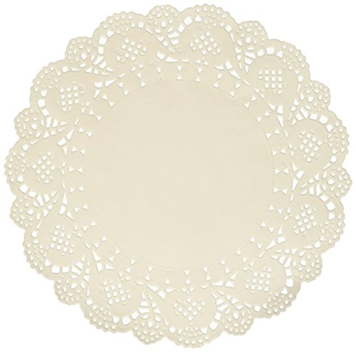 "Bo Bunny Embellishment Essentials Doilies 6.5"" Medium 20pc"