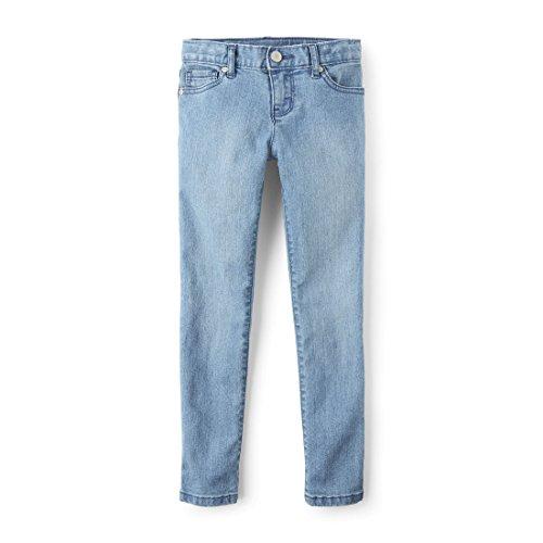 The Children's Place Big Girls' Skinny Jeans, LT Indigo 2147, 8