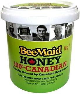 BeeMaid Honey 100%カナディアン・クリームハニー 1kg入り はちみつ カナダ産