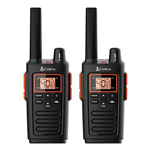 Cobra RX380 RX380 FRS 2-Way Radios, Pair