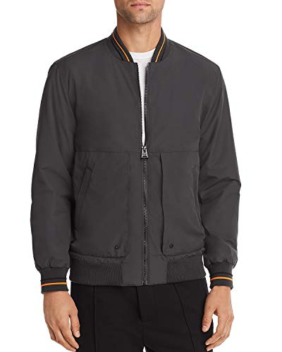 Superdry Men's Compton Bomber Jacket (Grey, Medium)