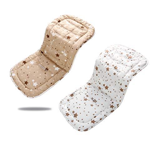 Miracle Baby Riduttore Passeggino Universale Neonato,Copriseduta per Passeggini,Morbido & Reversibile in Puro Cotone Copri Seggiolino Auto,Infant...