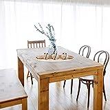 Relaxdays Teelichthalter Set, Kerzenschale, Dekokies, runde Kerzenhalter, stimmungsvolle Tischdeko, 51,5 cm lang, braun - 3
