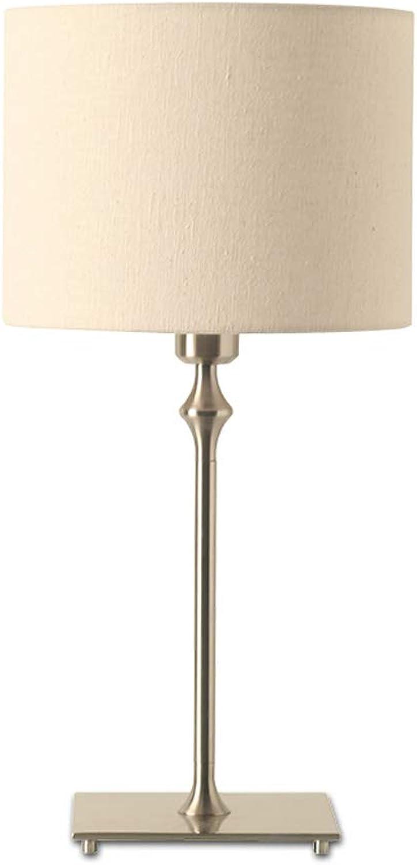 TDXZM Tischlampe, Modernes Minimalistisches Design, Retro Galvanisiert Kupfer Nachttischlampe Dekorative, Hochzeit, Schlafzimmer Wohnzimmer, Studie (Farbe   Weiß) B07JLGV9HM     | Grüne, neue Technologie